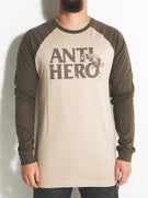 Anti Hero Doghump Longsleeve Raglan T-Shirt
