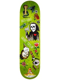 Anti Hero Taylor Grape Dope Deck 8.12 x 31.25