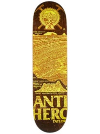 Anti Hero Taylor Gnarchaeolgy Deck 8.38 x 32.25