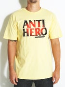 Anti Hero Black Hero Sunburst T-Shirt
