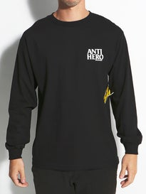 Anti Hero Lil Black Hero Longsleeve T-Shirt