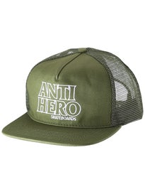 Anti Hero Outline Hero Unstructured Trucker Hat