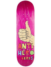 Anti Hero Beres Porous 2 Deck 8.5 x 31.85