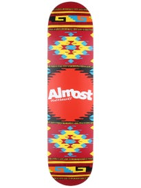 Almost Aztek Lava Deck  7.75 x 31.2
