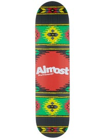 Almost Aztek Rasta Deck  7.75 x 31.2