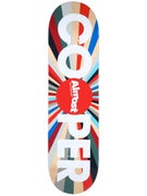 Almost Cooper Color Wheel Deck  8.25 x 31.7