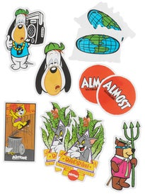 Almost Hanna-Barbera Throwback Sticker (10) Pack
