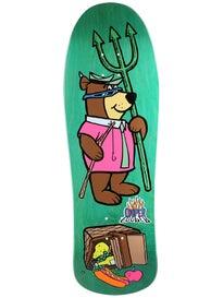 Almost Yogi Bear Picnic Screenprinted Deck 10 x 31.3
