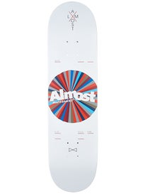 Almost Noble Color Wheel White Deck  8.125 x 31.7