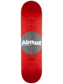 Almost Noble Dot Red Deck  8.0 x 31.6