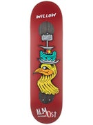 Almost Willow Bird Shits Impact Plus Deck  8.375x31.8