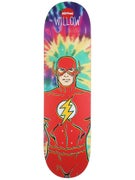 Almost Willow The Flash Tie Dye Deck  8.38 x 31.8