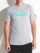 Andale Script T-Shirt