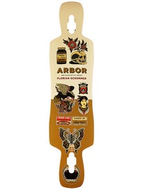 Arbor Catalyst Artist Longboard Deck 9.13 x 40