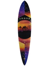 Arbor Timeless Photo Longboard Deck 8.8 x 40