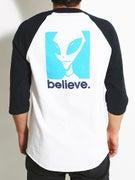 Alien Workshop Believe Raglan T-Shirt