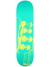 Alien Workshop Dayglo Abduction Large Deck 8.25x32.125