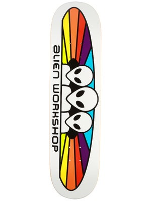 Alien Workshop Spectrum White Deck 8.0 x 31.375