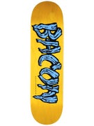 Bacon Woodgrain Logo Blue Deck  8.5 x 31.5