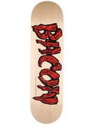 Bacon Woodgrain Logo Red Deck  8.38 x 31.5