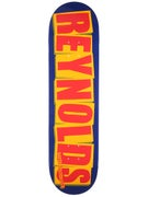 Baker Reynolds Logo Navy/Orange Deck  8.125 x 31.25