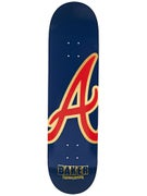 Baker Reynolds ATL Navy/Red/Gold Deck  8.38 x 32