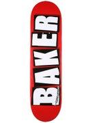 Baker Brand Logo White Deck 8.25 x 31.875
