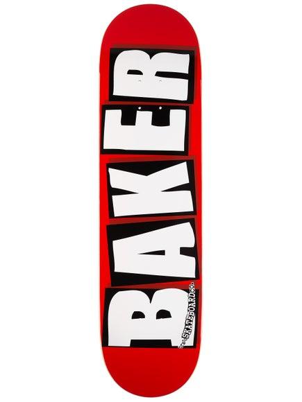 Baker Brand Logo White Deck 8.125 x 31.25