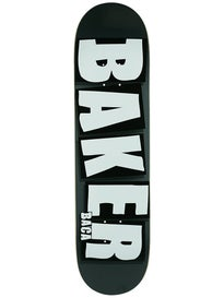 Baker Baca Brand Name Charcoal Deck 8.0 x 31.5