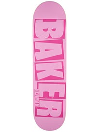 Baker Herman Brand Name Hot Pink Deck  8.125 x 31.5