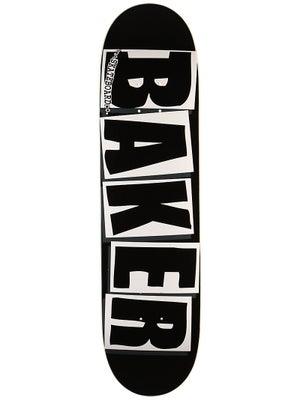 Baker Brand Logo Black/White Deck 8.0 x 31.75