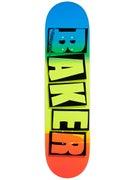 Baker Brand Logo Snipe Deck  8.0 x 31.5