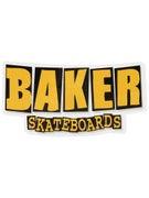 Baker Brand Logo Gold Sticker