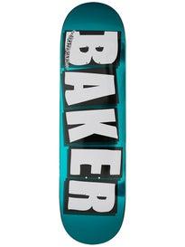 Baker Brand Logo Turquoise Deck 8.5 x 32