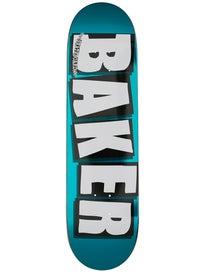 Baker Brand Logo Turquoise Deck 8.25 x 31.875