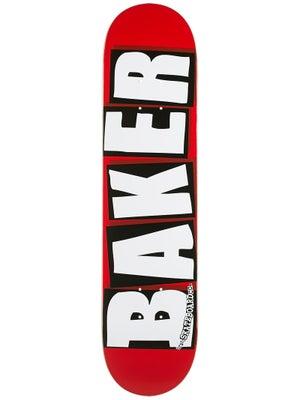 Baker Brand Logo White Deck 7.56 x 31.63