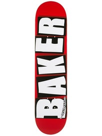 Baker Brand Logo White Mini Deck 7.3 x 31.44