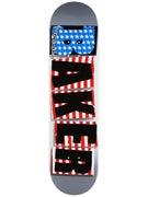 Baker Brand Logo Silver/USA Deck  7.875 x 31.25