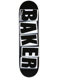 Baker Brand Logo Black/White Deck 8.0 x 31.5