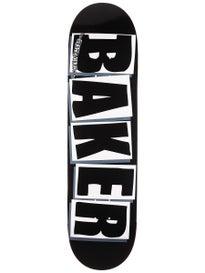 Baker Brand Logo Black/White Deck 8.25 x 31.75