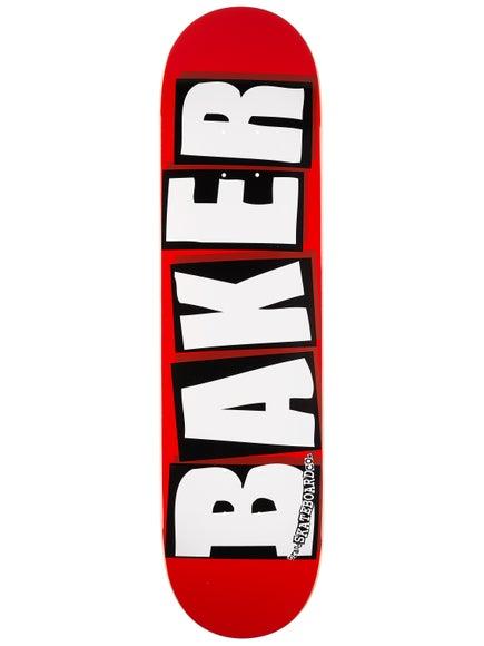Baker Brand Logo White Deck 8.0 x 31.5