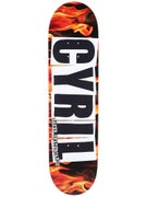 Baker Cyril Logo Fire Deck  8.25 x 31.875