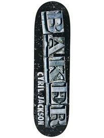 Baker Jackson Typeset Deck  8.3875 x 32