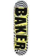 Baker Dollin Brand Name Checkers/Yellow Deck  8.25 x 32