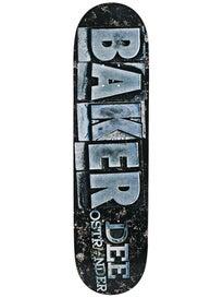 Baker Ostrander Typeset Deck  8.125 x 31.5