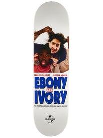 Baker TB & DD Ebony & Ivory Deck 8.25 x 31.875