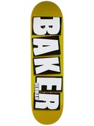 Baker Herman Brand Name Gold Deck 8.475 x 31.875