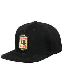 Baker Motel Corduroy Snapback Hat