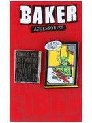 Baker Neckface Lapel Pin 2 Pack