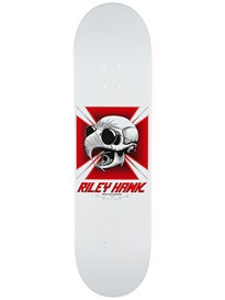 Baker Hawk Tribute White/Red Deck  8.25 x 31.875